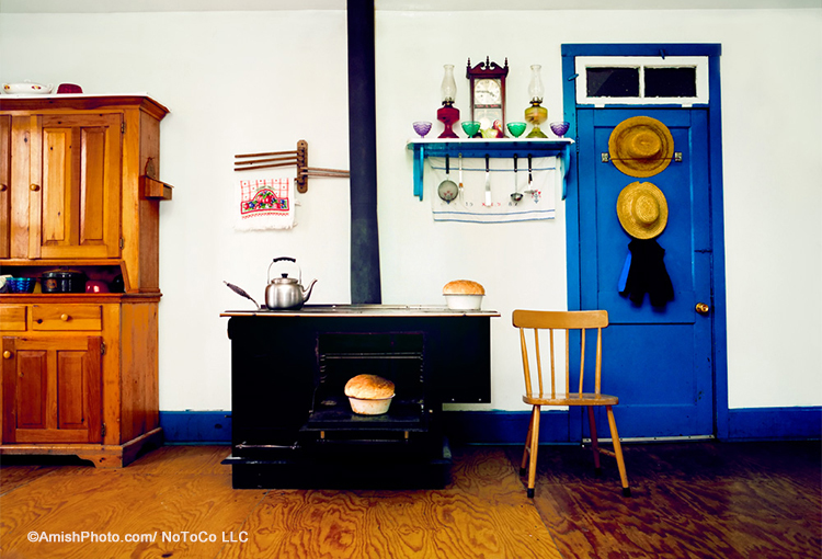 """Ada's Kitchen"" by photographer of the Amish Bill Coleman. Used with permission."