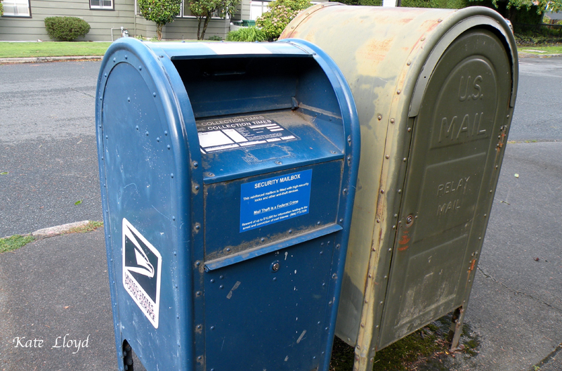 I walk to these mailboxes often.
