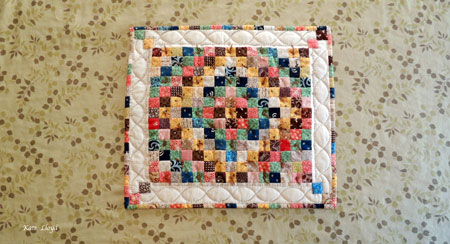 My dear Aunt, a gifted quilter, was extremely patient, except when behind the wheel.