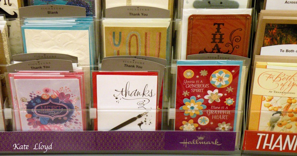 Yes, send out those Thank You notes!