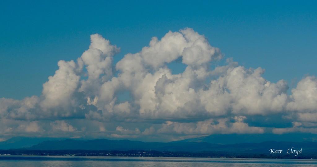 Sky over Port Susan