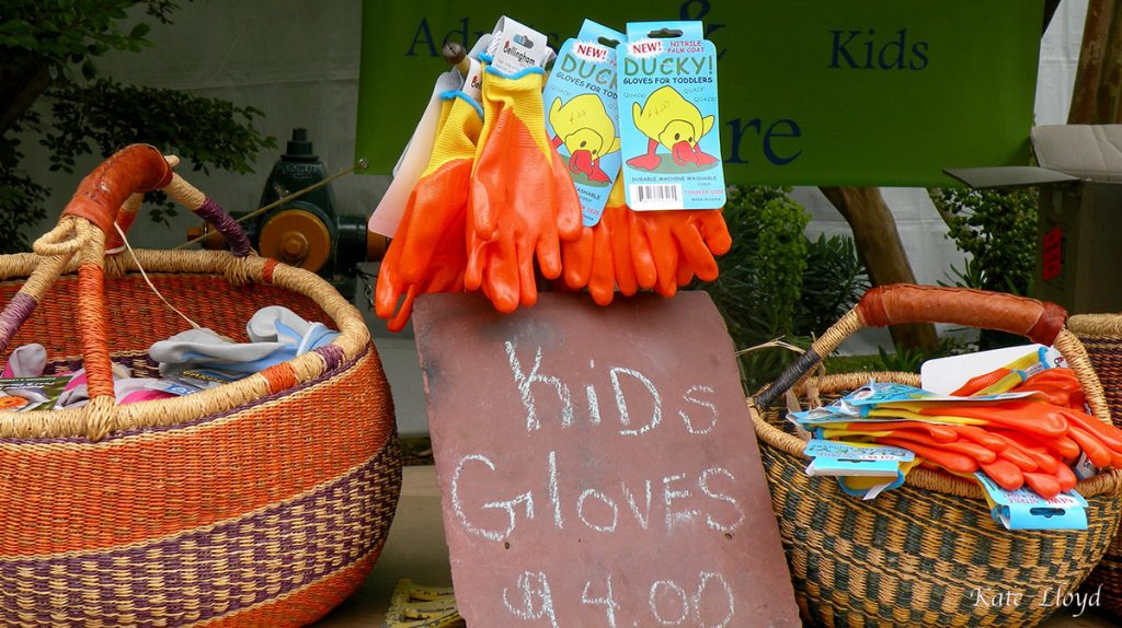 Must buy garden gloves for our grandkids!