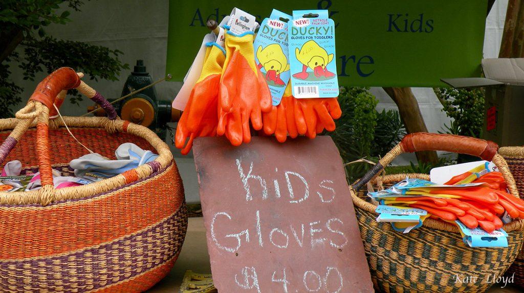 Must buy garden gloves for our grandkids!