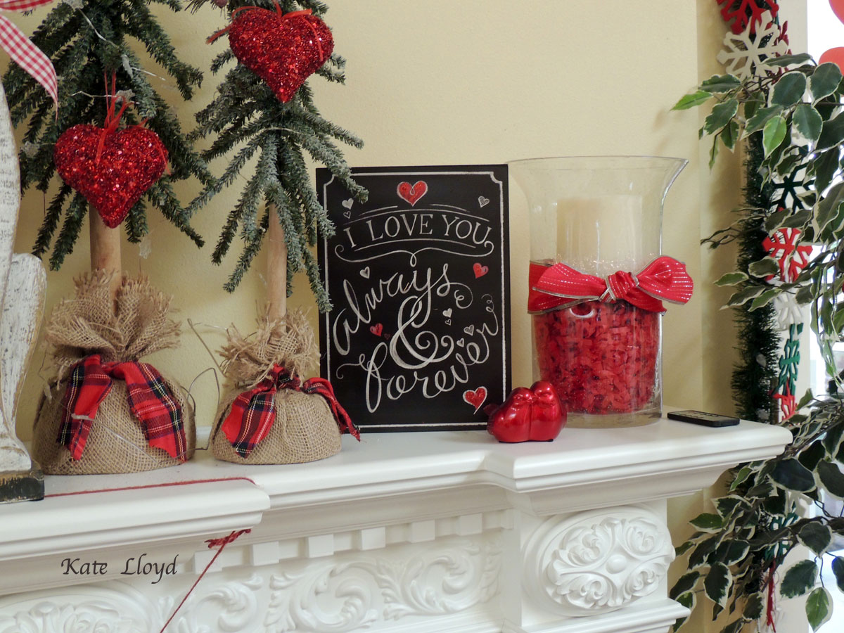 This fun Fireplace Mantel is a delight!
