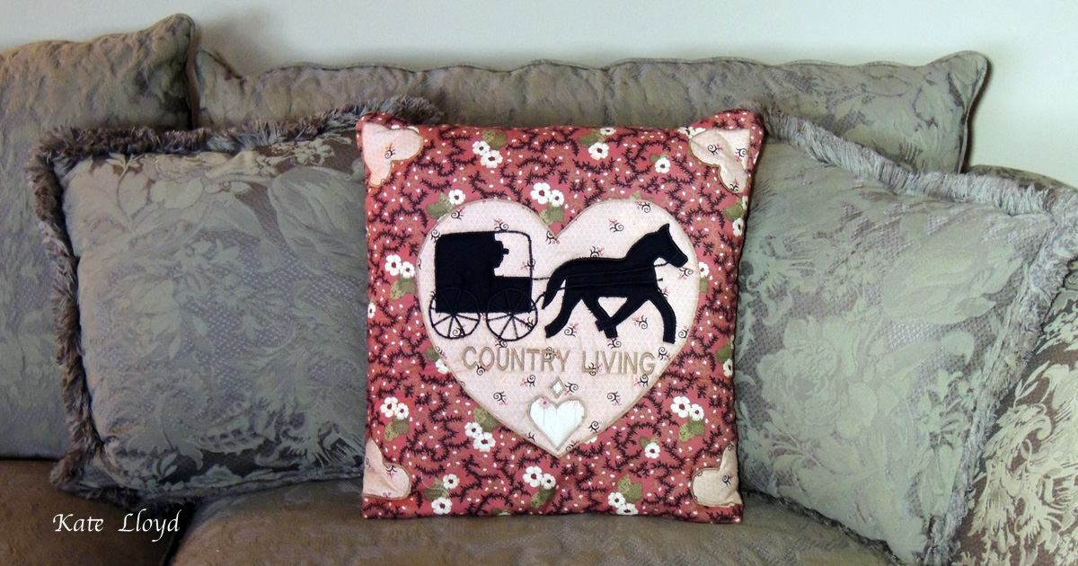 A lovely and ingenious Amish-made Quillow sewn in Lancaster County!