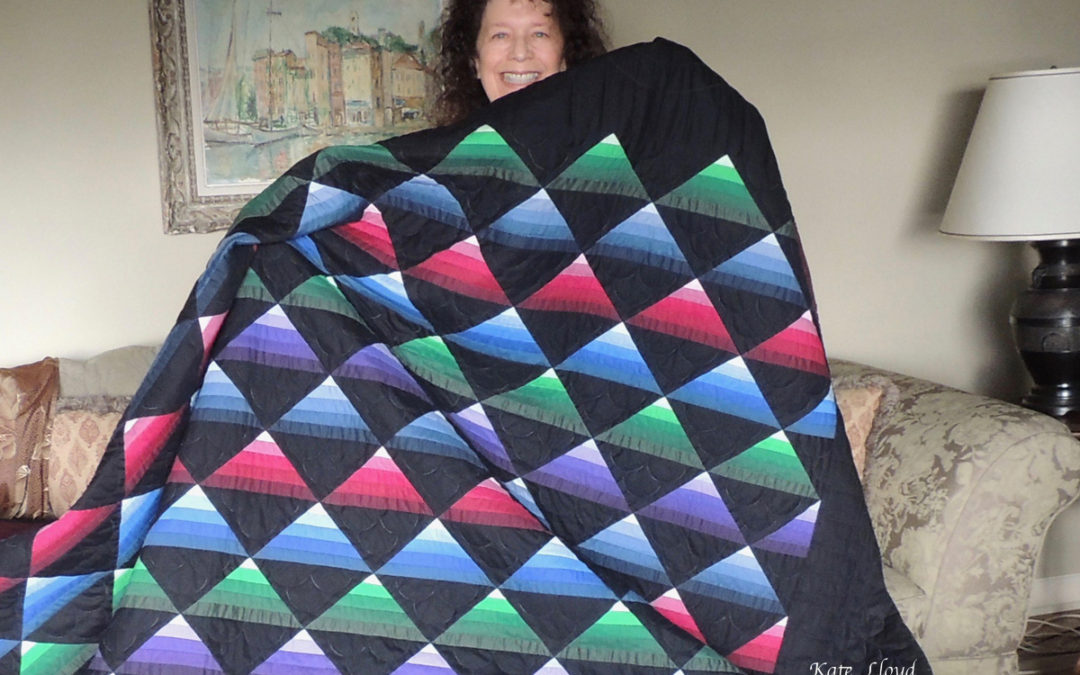Woo-hoo and hurray! I found my quilt winner!