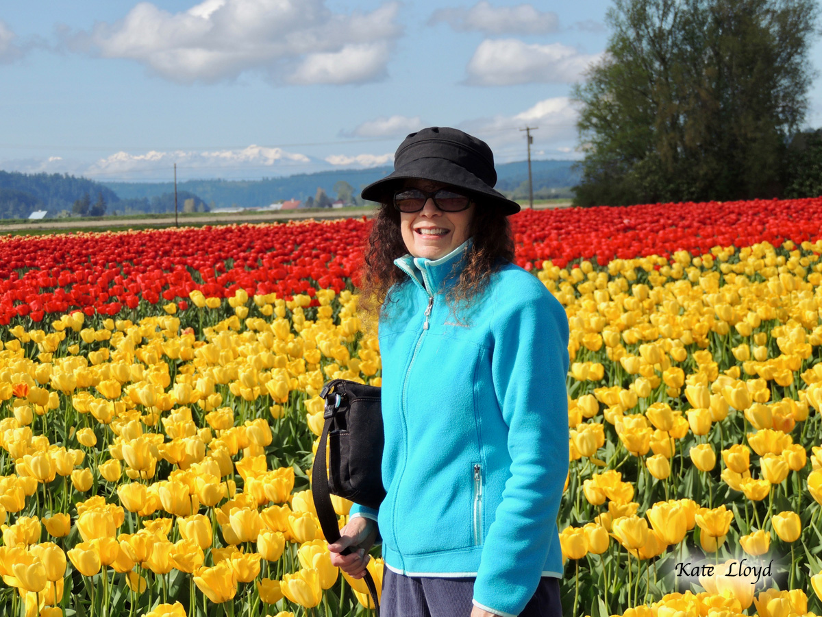 I'm awaiting the marvelous Skagit Valley tulips to bloom.