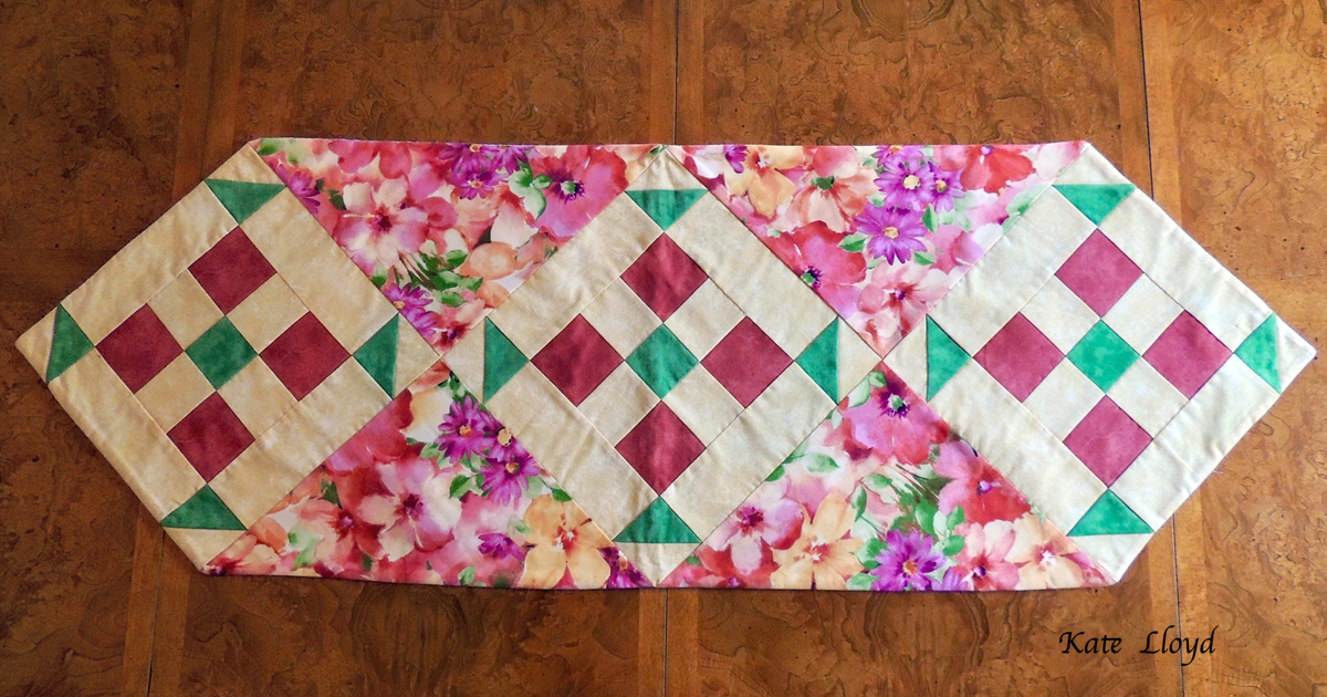 """enter to win this gorgeous 48"""" Amish-made table-runner from Lancaster County"""