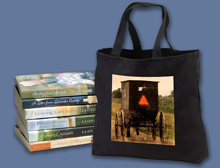Enter to win this tote bag and a copy of one of my books!