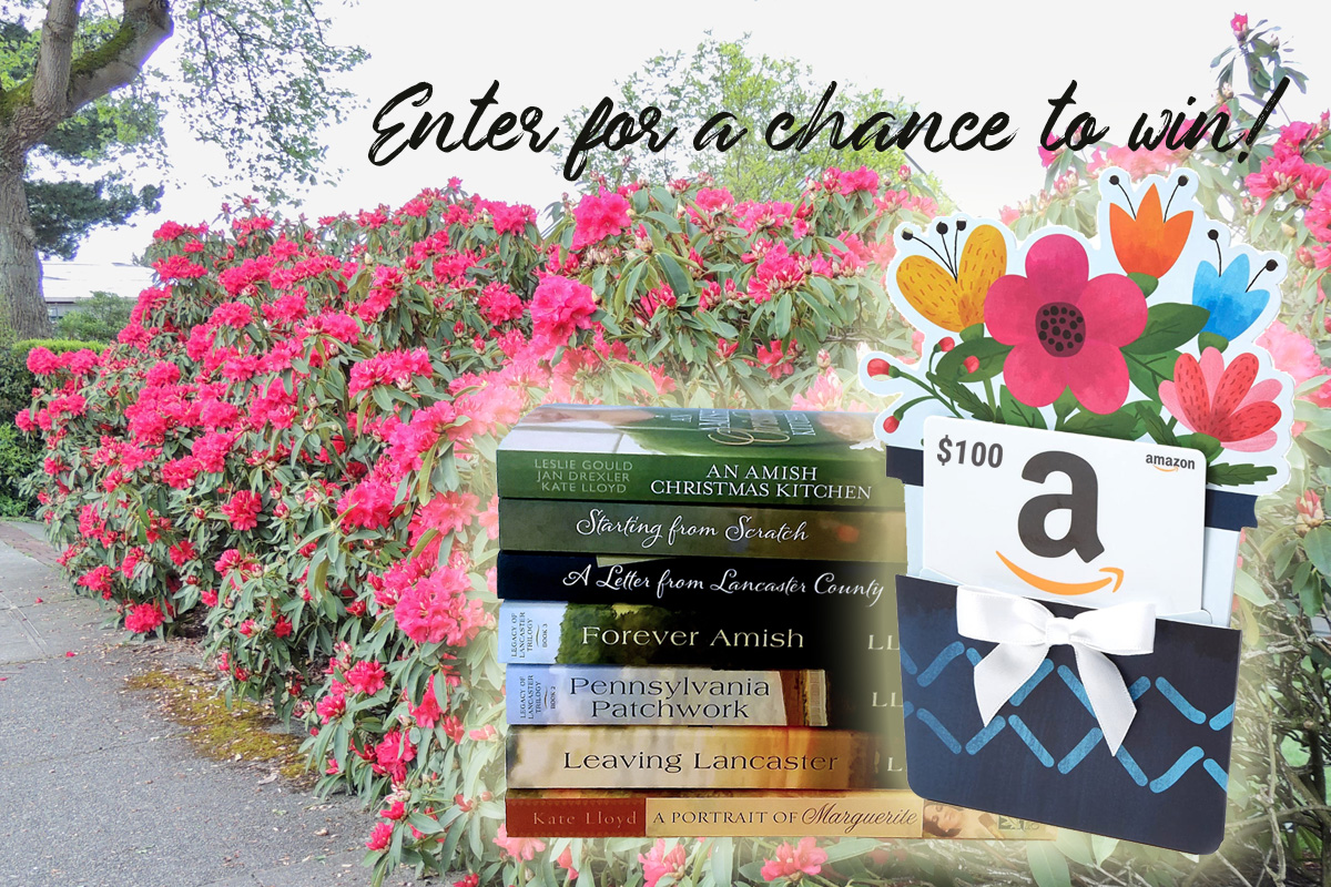Enter for a chance to win a $100 Amazon gift card and a signed copy of one of Kate Lloyd's books