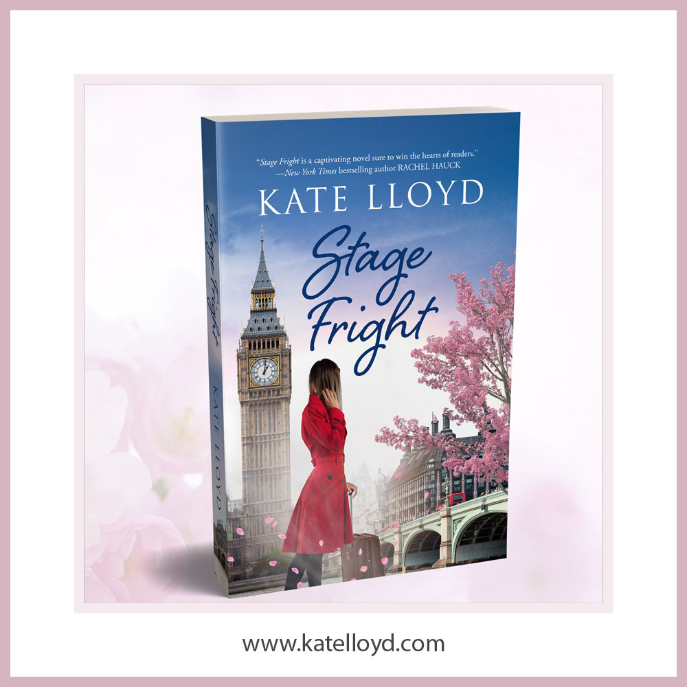Kate Lloyd's new novel, Stage Fright, is available to preorder