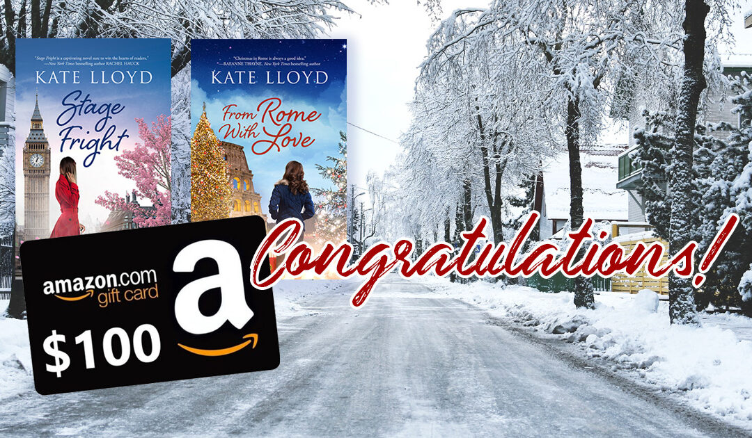 Congratulations and Kate's Snow Day Pics