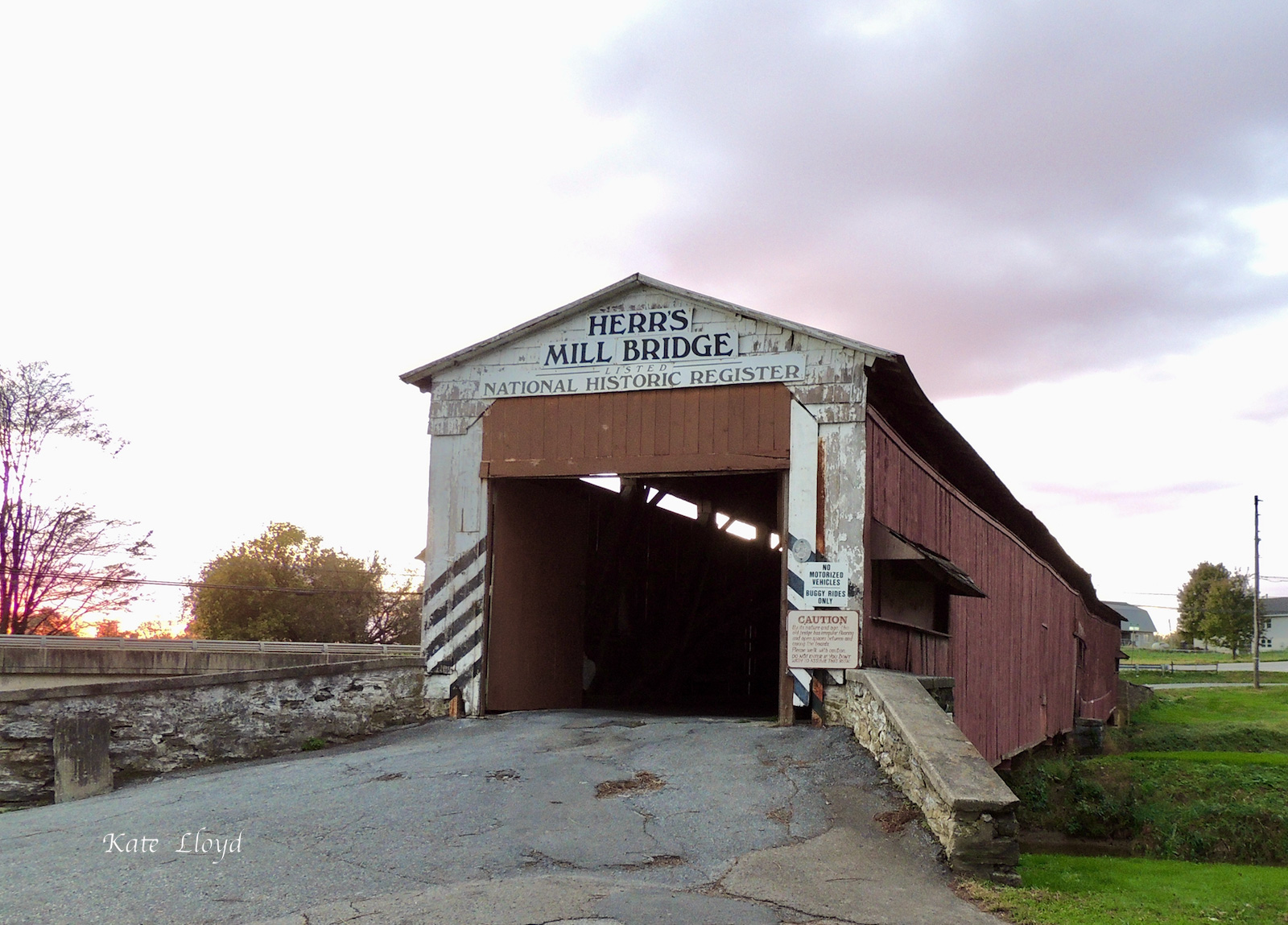 I love the covered bridges of Lancaster County!