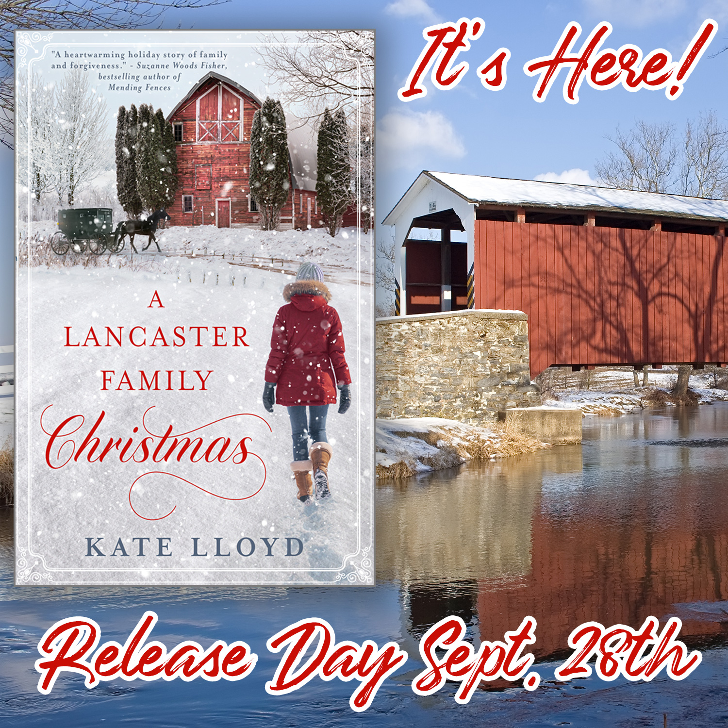 A Lancaster Family Christmas release day